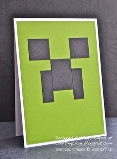 Gift idea and a quick, no stamping card for a boy