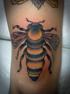 The Bee's Knees tattoo by Justin Dion at Anatomy Tattoo in Portland