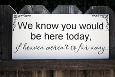 In memory of... We know you by SignsToLiveBy, $25.95