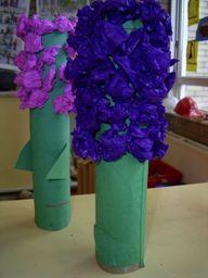 hyacint van wcrol en crepepapier