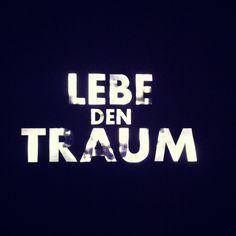'Lebe den Traum - Live the dream' at Kristallwelten in Wattens, Austria