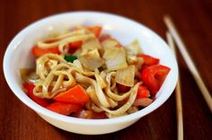 Curried Udon Noodle Stir-Fry