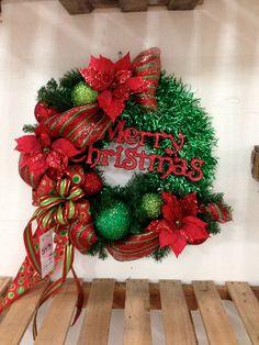 Mesh Ribbon & Wreaths