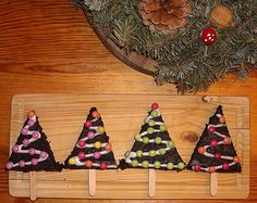 brownies sapin