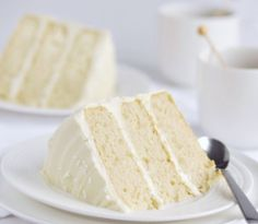 FRENCH VANILLA LAYER CAKE RECIPE: Take a look at my recipe for a delicious French vanilla triple layer cake that's moist and full of flavor. The cake is moist, buttery and is full of vanilla flavor by the addition of not only 2 teaspoons of pure vanilla extract but also by the addition of the seeds from a vanilla bean to the batter. It's then frosted with a vanilla cream cheese frosting that is truly delicious.
