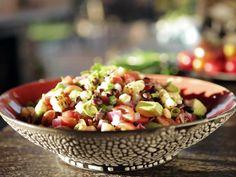 Black Bean Avocado Salsa with Corn Recipe : Guy Fieri : Food Network