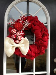 Wreaths in Decorations - Etsy Christmas
