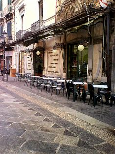 Catanzaro Ex gran Caffe Serrao , Calabria  in Italy via flickr