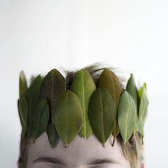 leaf crown for #Halloween #Costumes + #Parties