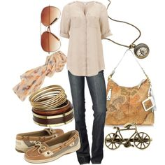 traveler, created by lagu on Polyvore (check out that purse!!!!)