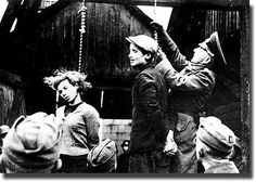 Hanged because they were Jews