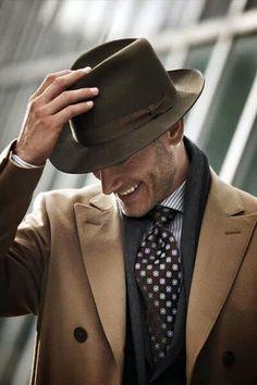 victoramaro:  Men's fashion // Dandy & Hat // www.victoramaroblog.com