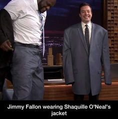 Jimmy Fallon jimmi fallon, giggl, funni, hilari, jackets, kids playing, smile, laughter, shaq