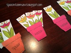 Speech Room News: Plant Your Garden: A receptive language download.