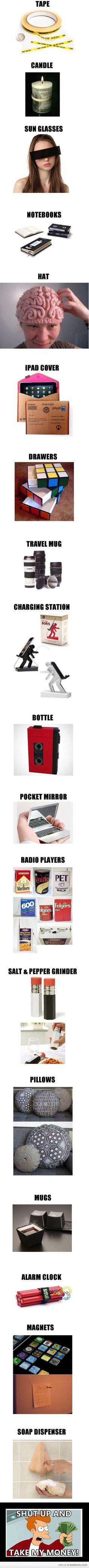 product, alarm clocks, stuff, gadget, sunglass, funni, random, awesom, thing