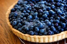 ina garten's blueberry cream tart