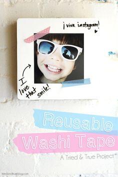 Reusable Washi Tape