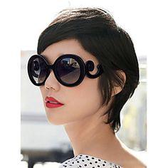 Baroque Vintage Big Leopard Sunglasses