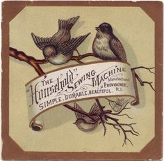 besottment by paper relics: Free Download: Brown Birds