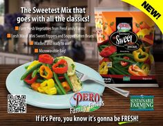 Delicious mix of #MiniSweetPeppers and #GreenBeans You'll be amazed at how sweet the green beans taste, when you try these, and they're the perfect side dish for any meal, from simple to gourmet!