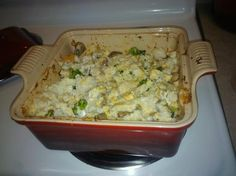 Low Carb Sausage, Mushroom and Chicken Casserole