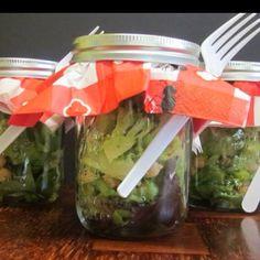 Salad in a Mason Jar!