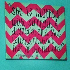 love this canvas & the quote. must do!