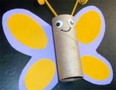 Haz una mariposa de colores y llena tu casa de primavera