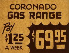 gas range