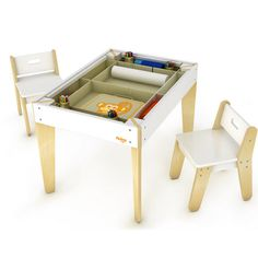 Pkolino - Modern Table and Chairs at West Coast Kids