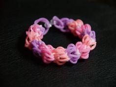 Bracelet diamond with rubber band Ez Looper