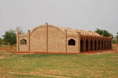Timbrel Vault technique for Primary School in Balaguina in Mali by Joop van Stigt and Jurriaan van Stigt | Courtesy of Foundation Dogon Education