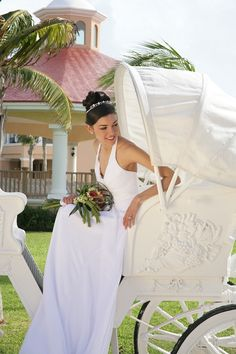 Horse drawn carriage at a #DestinationWedding in Mexico-- so romantic! www.allabouttravel.org www.facebook.com/AllAboutTravelInc 605-339-8911 #travel #vacation #explore #wedding #honeymoon #romance #luxury #mexico