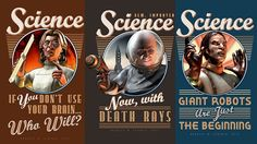 Science poster series