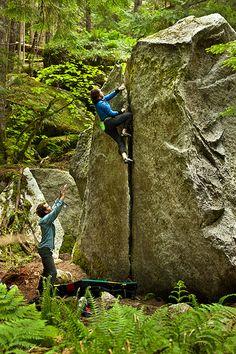 Boulder around