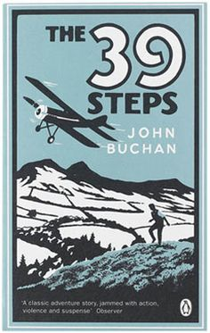 The 39 Steps cover by Coralie Bickford Smith