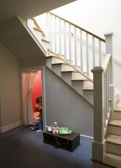 Play area under the stairs for Kids