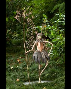 Perky Fairy Sculpture by Berry Bate by TrombaMarina,