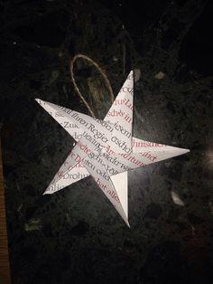 DIY origami Christmas decoration!