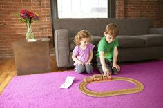 A Toy Train Set That Allows Kids To Discover Music As They Play - DesignTAXI.com