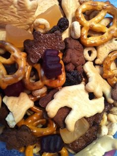 Kids Safari Trail Mix Recipe Plus Giveaway {Ends 1/16}   Shake The Salt