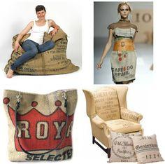grain sacs -> dress, handbag, upholstery, etc I love the chair