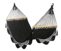 Black+Hammock+100+Cotton+by+veronicacolindres+on+Etsy,+$80.00