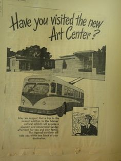 1.31.13 / 6:30 pm  Lecture: The History of the Des Moines Art Center, take the Ingersoll Curliner