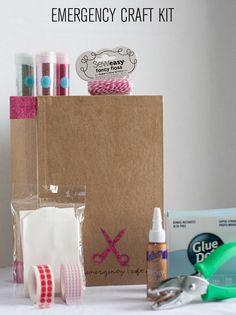 Gift idea: emergency craft kit!