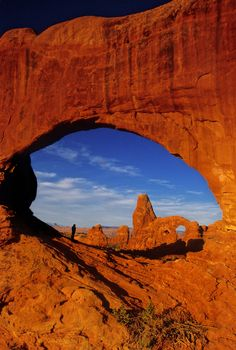 ~ Window Watcher ~ Arches National Park, Utah....
