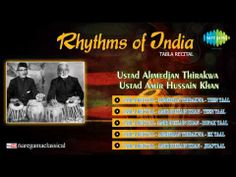 Rhythms Of India Tabla Recital | Hindustani Classical Instrumental Music Audio Jukebox - YouTube
