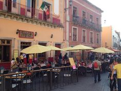 There's nothing better than relaxing in a Mexican outdoor cafe and watching the world go by.