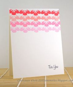 Created by Chunyuan Wu  for Avery Elle using the Blossoms & Blooms stamp set.  http://dahliamemories.blogspot.com/