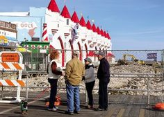 Ocean City Boardwalk reconstruction underway